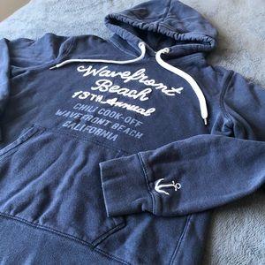 HM LOGG California Wavefront Beach Hood Sweatshirt